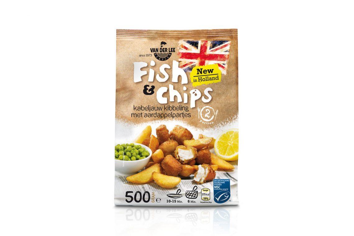 Nieuw product voor de detailhandel Fish & Chips