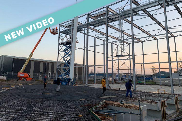 Coldstore uitbreiding met 3.500 pallets door aanhoudende groei