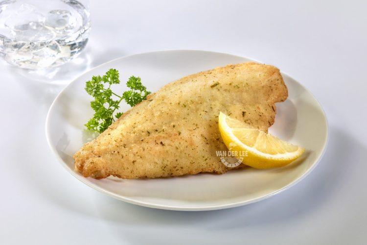 Licht gekruide filets met knoflook en citroen
