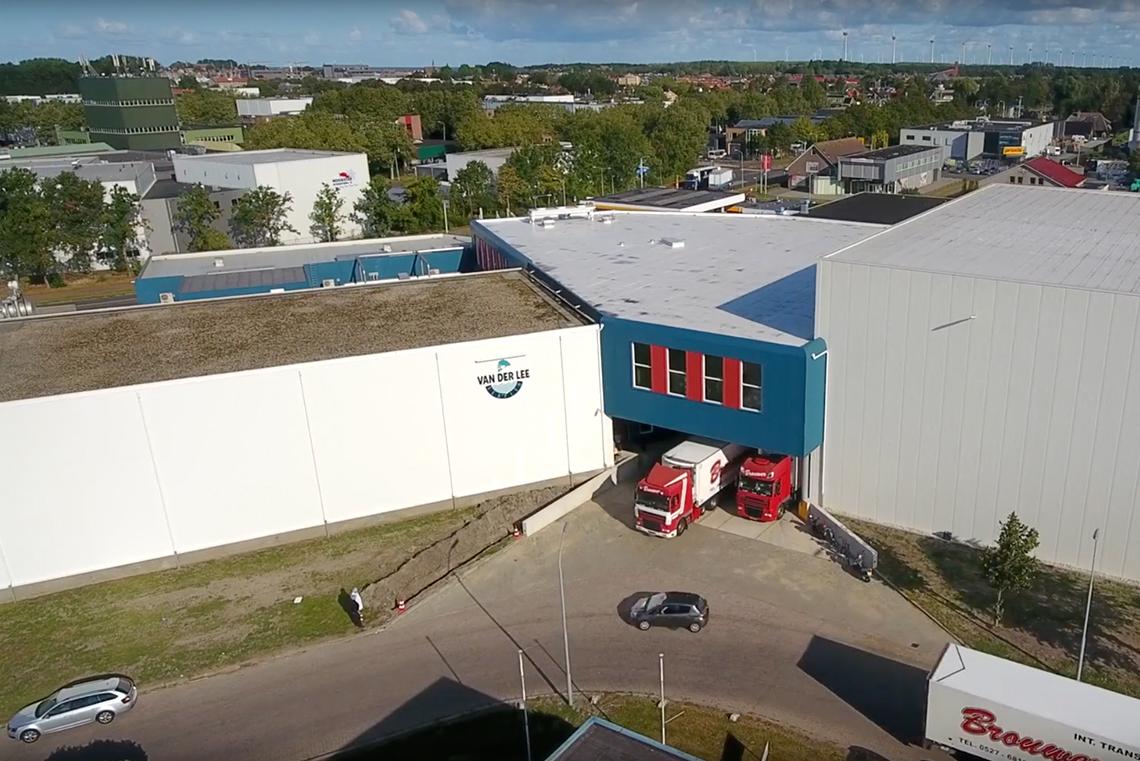 Nieuw vrieshuis in gebruik genomen; forse uitbreiding gerealiseerd