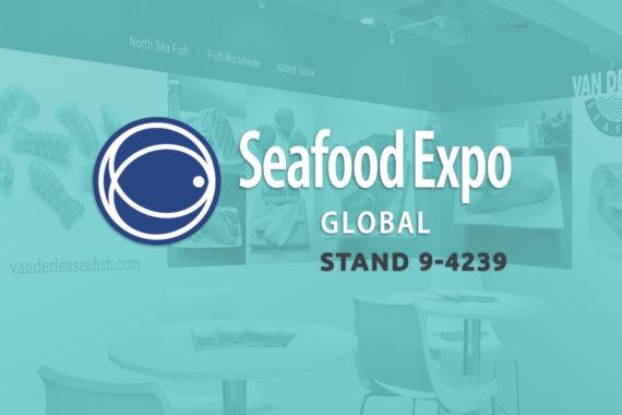 Komt u ons ook in april 2020 bezoeken op de Seafood Expo Global in Brussel?