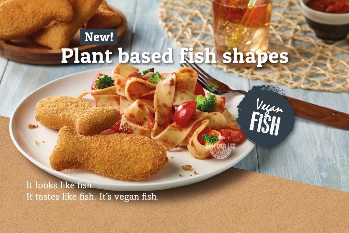 Nieuw bij Van der Lee Seafish: VEGAN VIS!